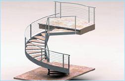 Ds studio progettazione scale acciaio - Scale da esterno in muratura ...